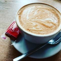 Exeter Tea on the Green Baileys Latte