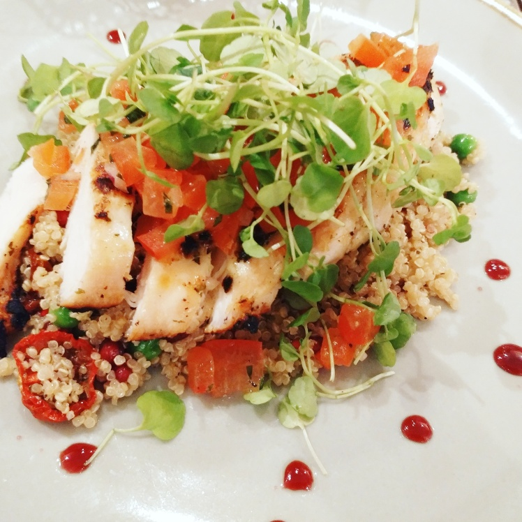 Fourty Dean Street Chicken Quinoa