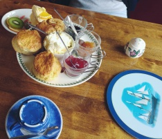 Jolly Roger Tea Room in Exeter Scones only