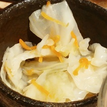 Pickled Cabbage £2