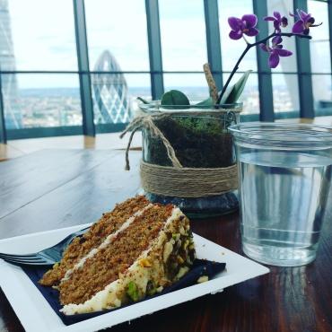 Sky Garden London Carrot Cake