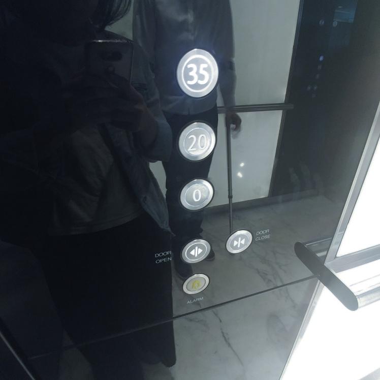 Sky Garden London Elevator