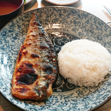 Grilled Mackerel (Main 1)