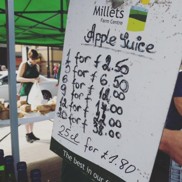 Apple Juice Price