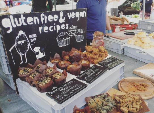 Gluten Free and vegan pastries